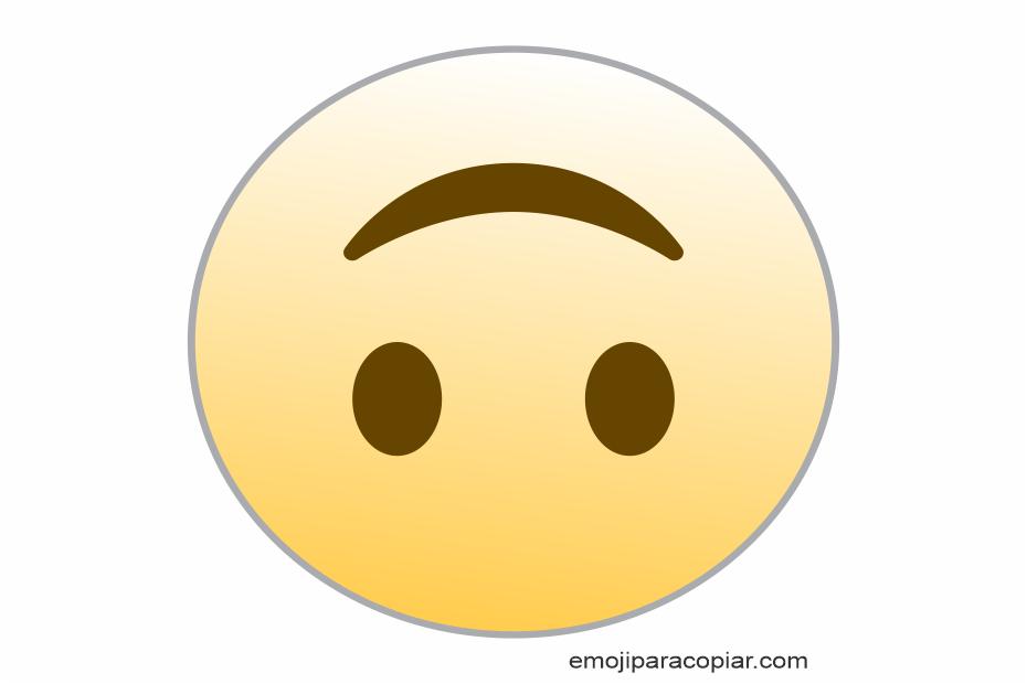 Emoji Face de cabeça para baixo
