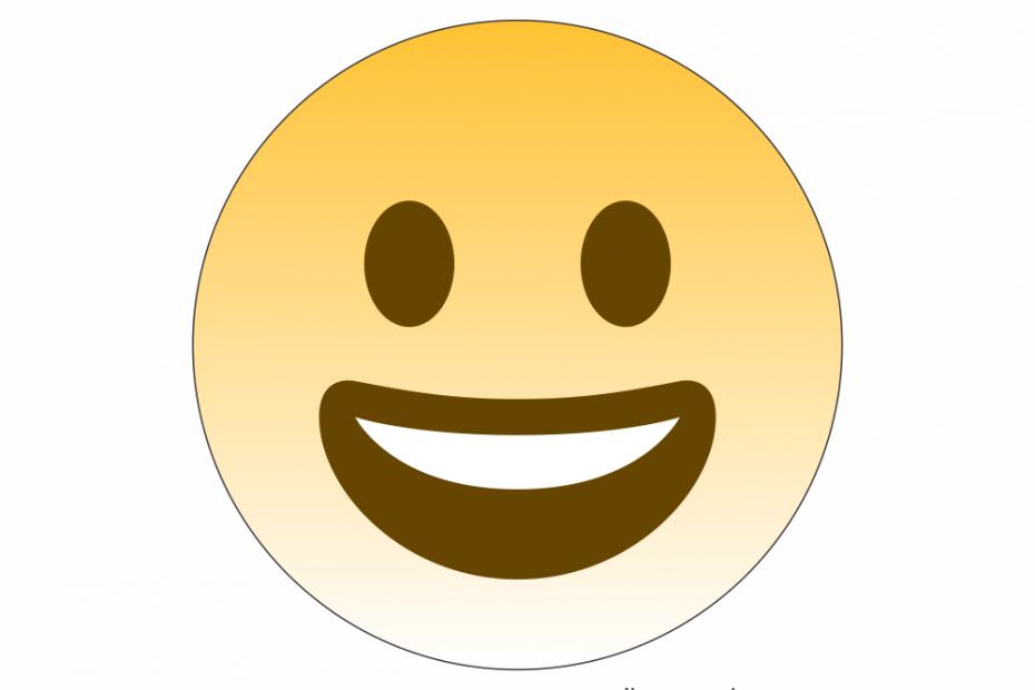 Emoji Rosto sorridente