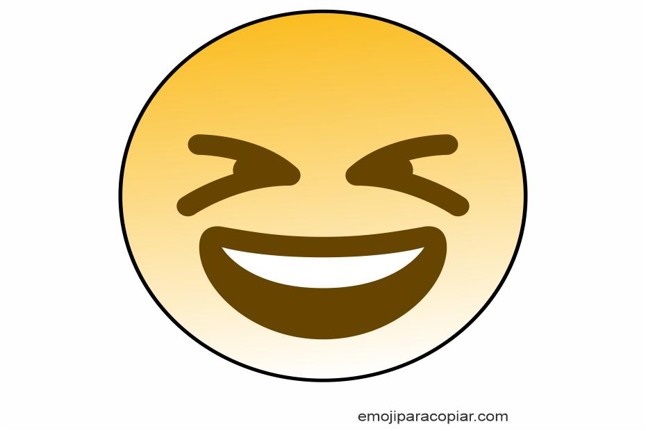 Emoji Rosto sorridente e vesgo