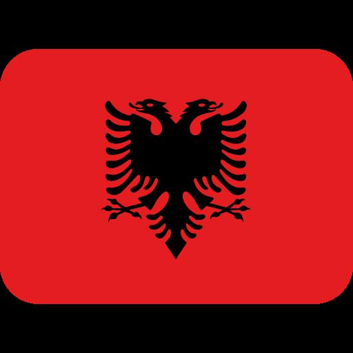 Emoji Bandeira Albânia