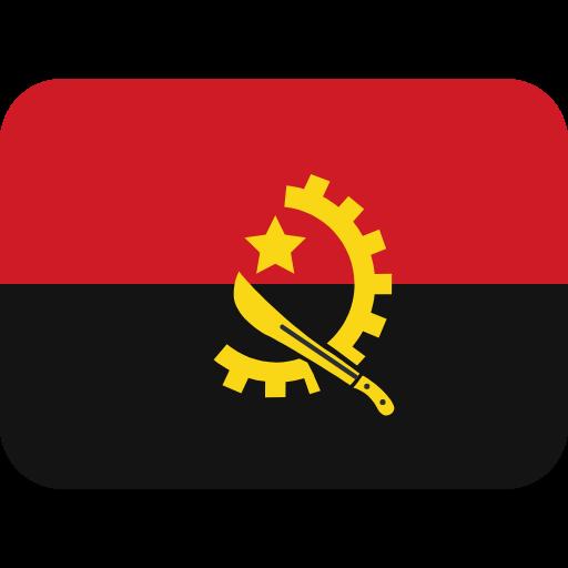 Emoji Bandeira Angola