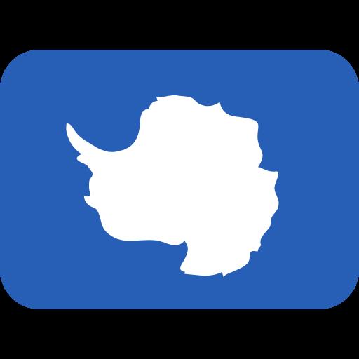 Emoji Bandeira da Antártica